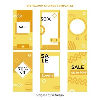 Instagram verhalen sjablonen