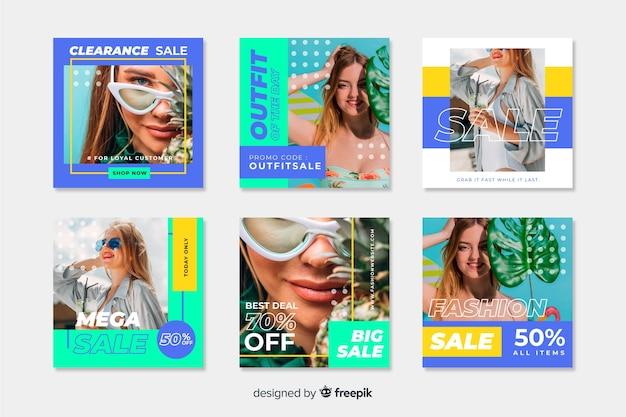 Instagram verkoop post collectie