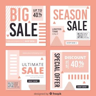 Instagram verkoopverhalencollectie