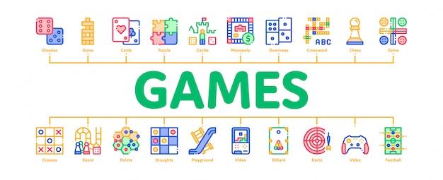 Interactive kids games banner