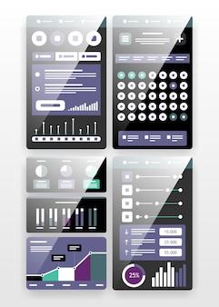 Interface ui voor app-ontwikkeling