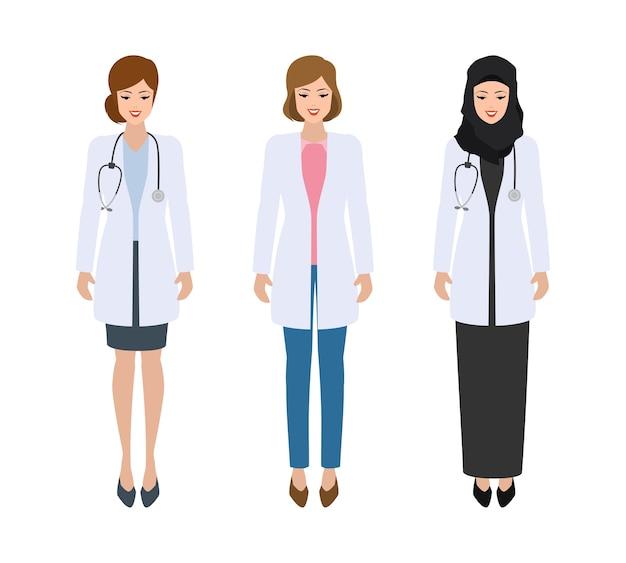Internationaal artsenkarakter in het ziekenhuisontwerp