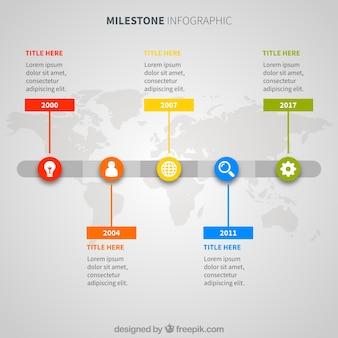 Internationaal bedrijf infographic