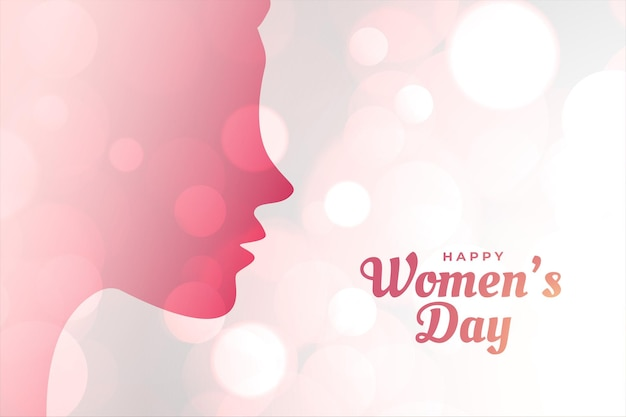 International womwn's day concept achtergrond