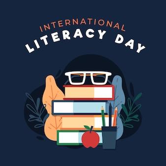 Internationale alfabetiseringsdag met boeken