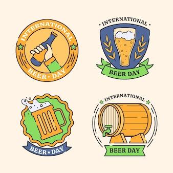Internationale bierdag badges collectie