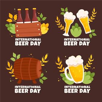 Internationale bierdag belettering stijl