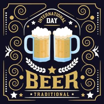 Internationale bierdag evenemententrekking