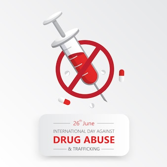 Internationale dag tegen drugsmisbruik