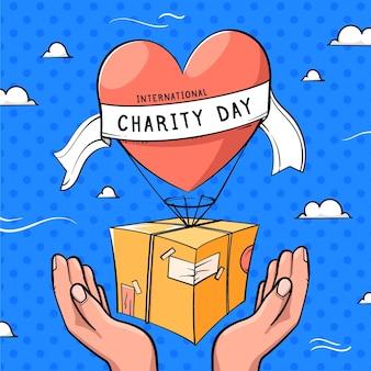 Internationale dag van de liefdadigheidstrekking