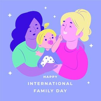 Internationale dag van families thema