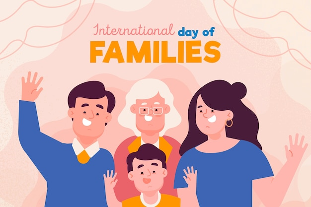 Internationale dag van families thema