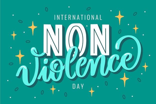 Internationale dag van geweldloosheid