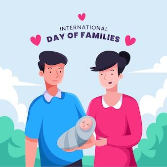 Internationale dag van gezinnen buiten