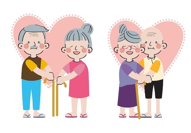 Internationale dag van gezinnen grote liefde zoet saamhorigheid familiekarakter