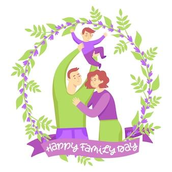 Internationale dag van het gezin trekt