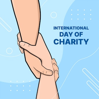 Internationale dag van liefdadigheid.