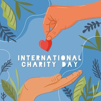 Internationale dag van liefdadigheidsevenement