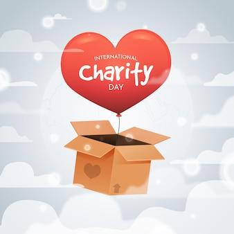Internationale dag van liefdadigheidsfeest