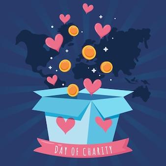 Internationale dag van liefdadigheidsontwerp