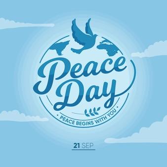 Internationale dag van vredesontwerp