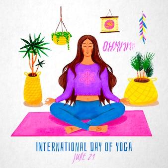 Internationale dag van yoga