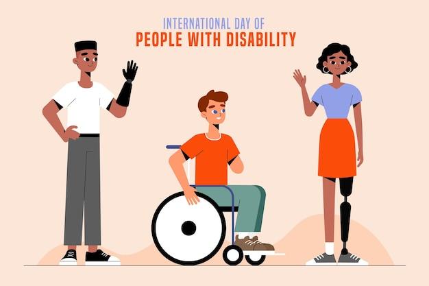Internationale dag voor mensen met een handicap