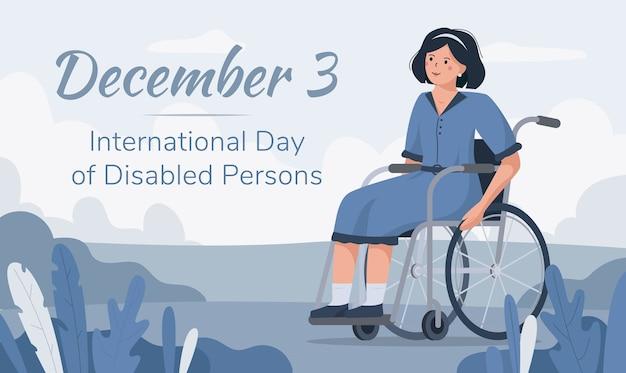 Internationale dag voor personen met een handicap 3 december