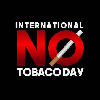 Internationale dag zonder tabak