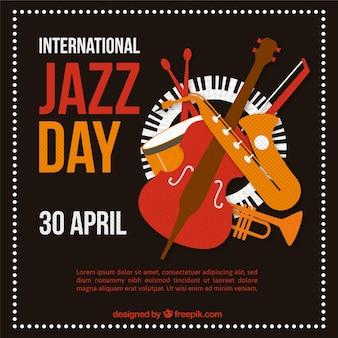 Internationale jazz-dagsjabloon