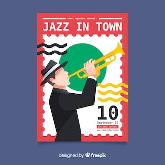 Internationale jazzdagvlieger