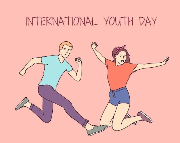 Internationale jongerendag. 12 augustus.