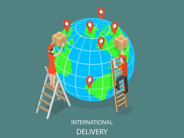 Internationale levering