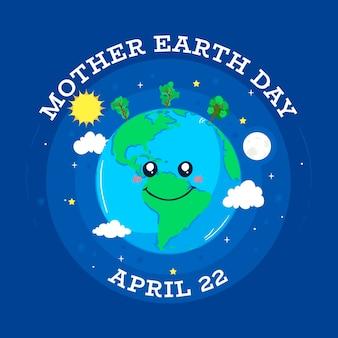 Internationale moeder aarde dag evenement