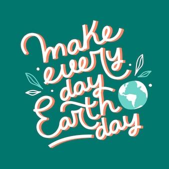 Internationale moeder aarde dag thema