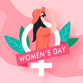 Internationale vrouwendag concept.