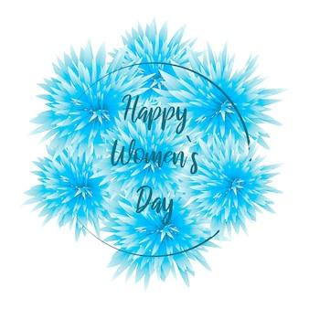 Internationale vrouwendag-kaart