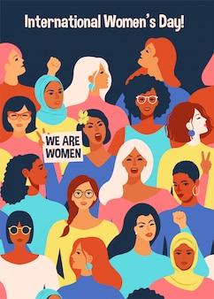 Internationale vrouwendag.