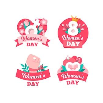 Internationale vrouwendagetiketten