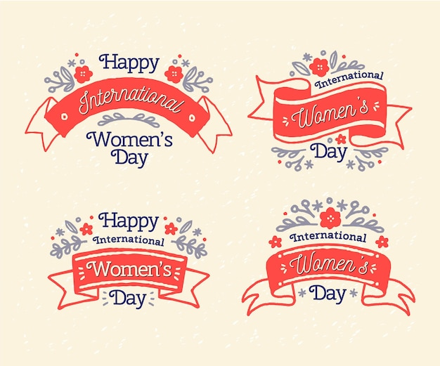 Internationale vrouwendaglabels