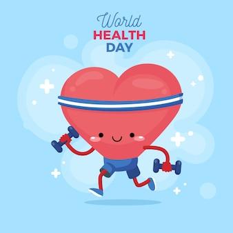 Internationale wereld gezondheid dag thema