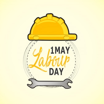 Internationale werknemer of dag van de arbeid
