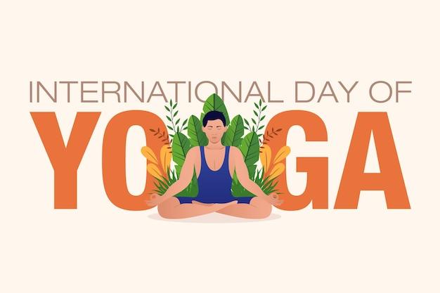 Internationale yoga dag 21 juni viering van wereld yoga dag