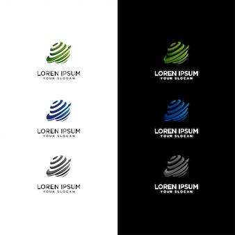 Internet logo set