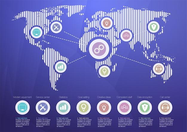 Internet of things (iot), cloud at center, apparaten en connectiviteitsconcepten op een netwerk.