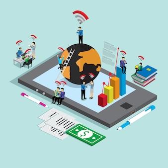 Internet voor zakenmensen