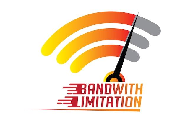 Internetbandbreedte beperking