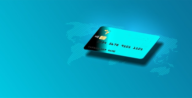 Internetbankieren. online betalingstransactie, creditcard.