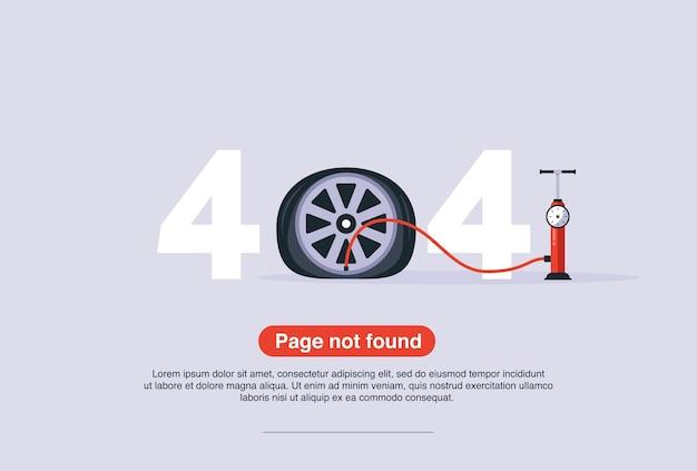 Internetnetwerkwaarschuwing 404-foutpagina of bestand niet gevonden voor webpagina