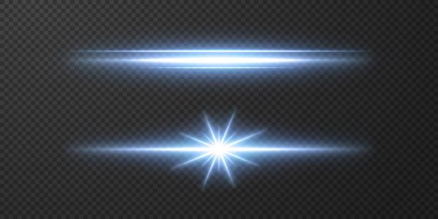 Introductie van de effecten van vector neonlichtsets